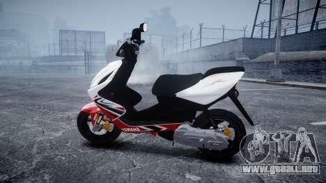 Yamaha Aerox R para GTA 4 left