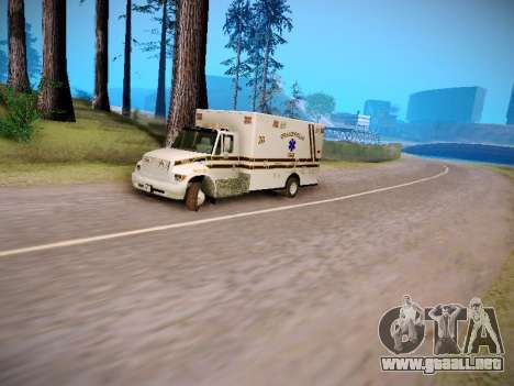 Pierce Commercial Grasonville Ambulance para visión interna GTA San Andreas