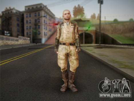 Pablo (Metro Last Light) para GTA San Andreas