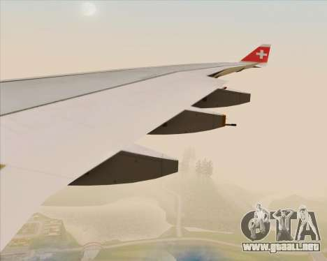 Airbus A330-300 Swiss International Air Lines para las ruedas de GTA San Andreas