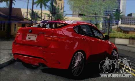 BMW X6M 2013 v3.0 para GTA San Andreas left