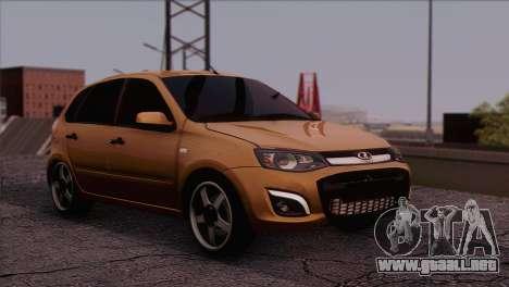 Lada Kalina 2 Wagon para GTA San Andreas