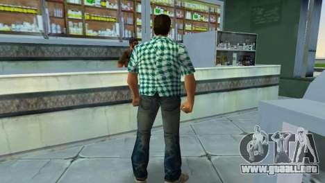 Kockas polo - vilagoskek T-Shirt para GTA Vice City sucesivamente de pantalla