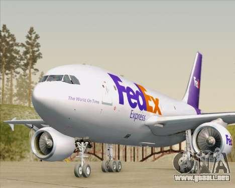 Airbus A310-300 Federal Express para el motor de GTA San Andreas