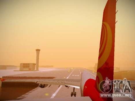 Airbus A340-600 Hainan Airlines para las ruedas de GTA San Andreas