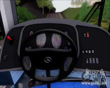 Neobus Spectrum Linea 38 Mcal. Lopez para GTA San Andreas interior