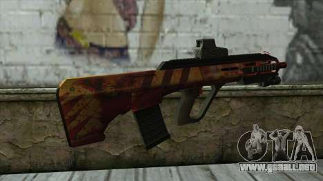 AUG A3 from PointBlank v4 para GTA San Andreas segunda pantalla
