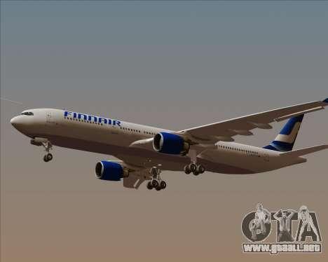 Airbus A330-300 Finnair (Old Livery) para visión interna GTA San Andreas