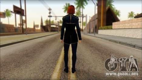 Mass Effect Anna Skin v1 para GTA San Andreas segunda pantalla