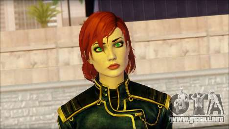 Mass Effect Anna Skin v1 para GTA San Andreas tercera pantalla