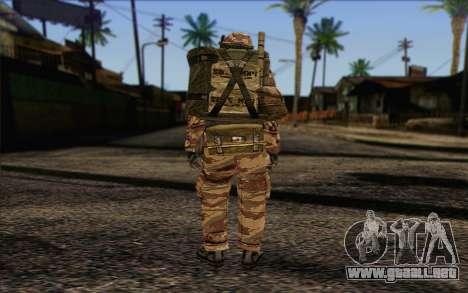 Soldados de MEK (Battlefield 2) de la Piel 3 para GTA San Andreas segunda pantalla