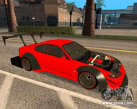 Slivia Red Planet para GTA San Andreas left