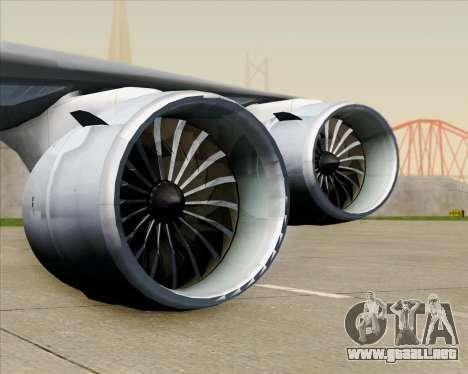 Boeing 747-8 Cargo Nippon Cargo Airlines para las ruedas de GTA San Andreas
