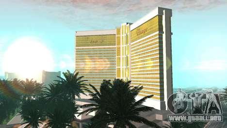 Nuevas texturas de casino Rostro en Las Venturas para GTA San Andreas segunda pantalla