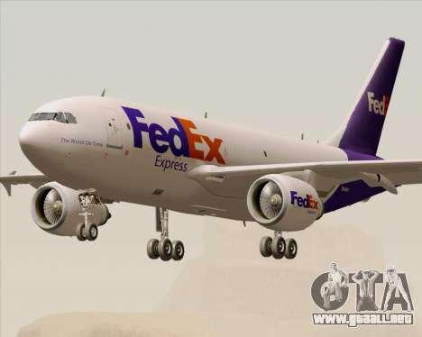 Airbus A310-300 Federal Express para GTA San Andreas