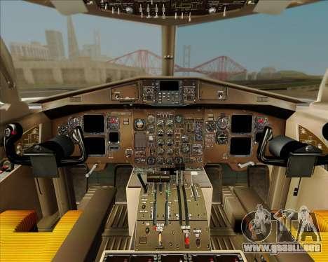 ATR 72-500 Garuda Indonesia Explore para la vista superior GTA San Andreas