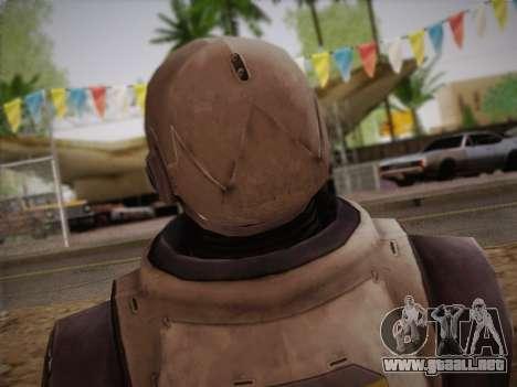 Mouser Human para GTA San Andreas tercera pantalla