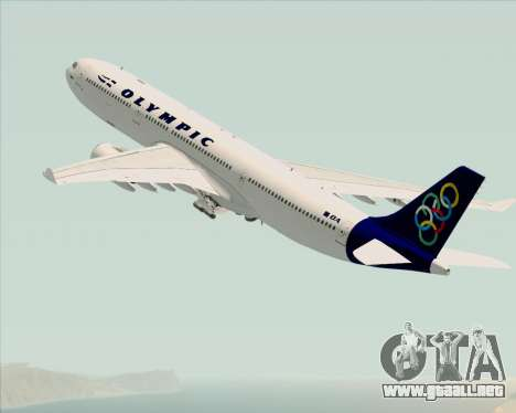 Airbus A330-300 Olympic Airlines para GTA San Andreas