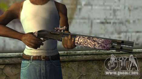 PurpleX Shotgun para GTA San Andreas tercera pantalla