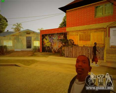 Actualizada la casa de CJ para GTA San Andreas segunda pantalla