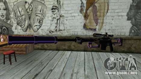 PurpleX Sniper Rifle para GTA San Andreas