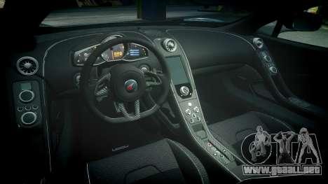 McLaren 650S Spider 2014 [EPM] BFGoodrich para GTA 4 vista interior