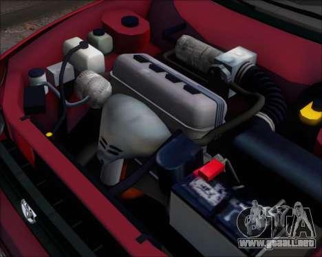 Toyota Corolla 1.6 para GTA San Andreas vista hacia atrás