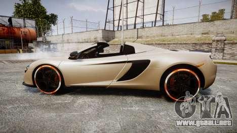 McLaren 650S Spider 2014 [EPM] Bridgestone v1 para GTA 4 left