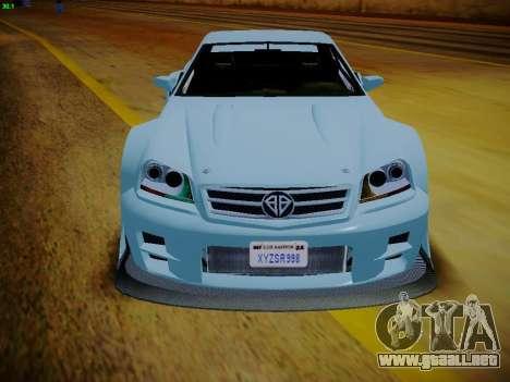 Benefactor Feltzer из GTA 5 para la visión correcta GTA San Andreas