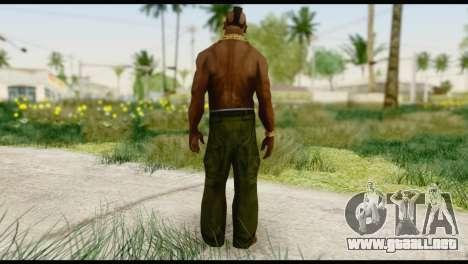 MR T Skin v1 para GTA San Andreas segunda pantalla