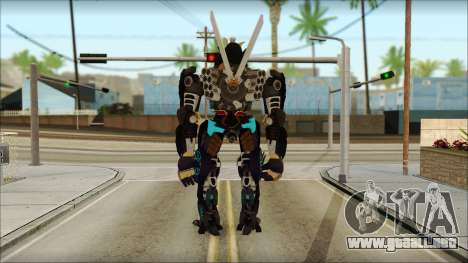 Дрифт (Transformers: el Aumento de la Oscuridad  para GTA San Andreas segunda pantalla