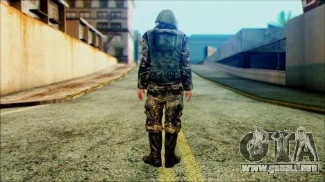Soldado SA (WIC) para GTA San Andreas segunda pantalla