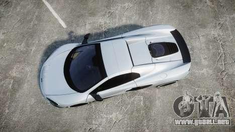 McLaren 650S Spider 2014 [EPM] KUMHO para GTA 4 visión correcta