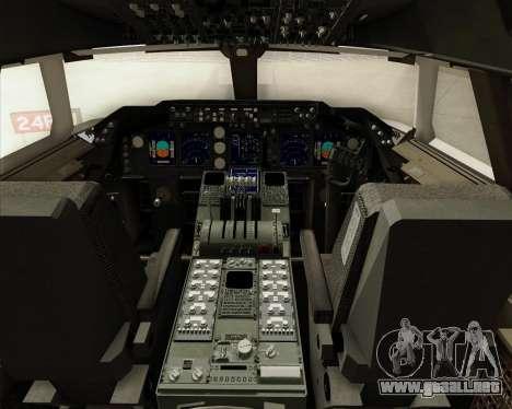 Boeing 747-8 Cargo British Airways World Cargo para GTA San Andreas interior