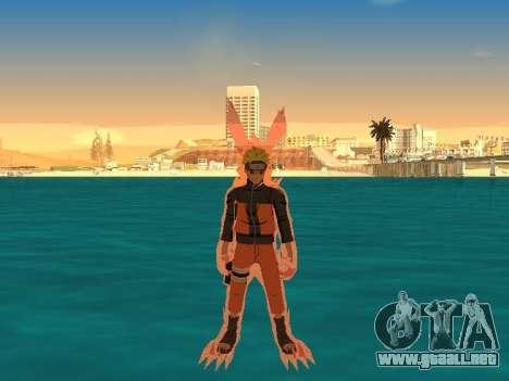 El Kyubi Transformación para GTA San Andreas segunda pantalla