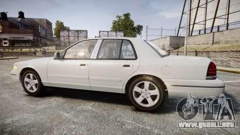 Ford Crown Victoria LX Sport para GTA 4 left