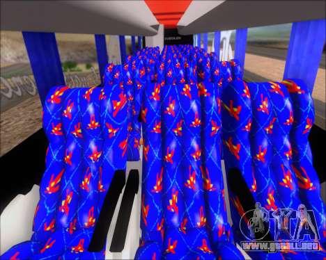 Busscar Elegance 360 C.R.F Flamengo para GTA San Andreas interior