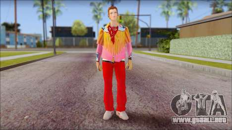 Marty from Back to the Future 1885 para GTA San Andreas