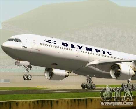 Airbus A330-300 Olympic Airlines para el motor de GTA San Andreas