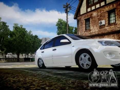 Lada Granta Liftback para GTA 4 vista hacia atrás