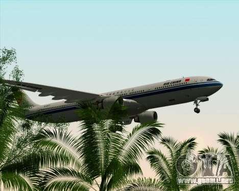 Airbus A330-300 Air China para vista inferior GTA San Andreas