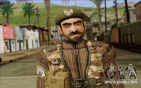 Soldados de MEK (Battlefield 2) de la Piel 5 para GTA San Andreas tercera pantalla