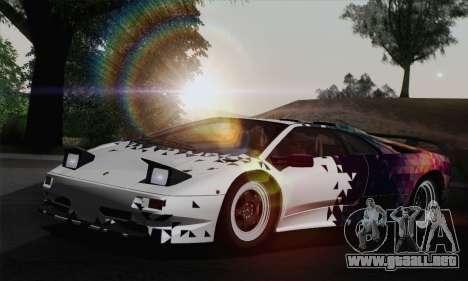 Lamborghini Diablo SV 1995 (ImVehFT) para las ruedas de GTA San Andreas