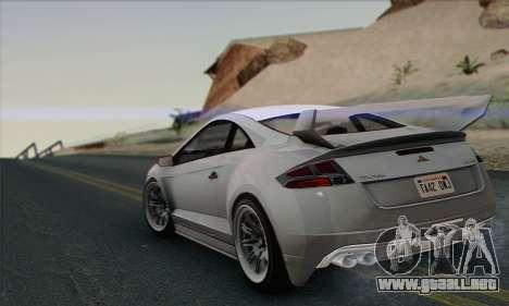 Maibatsu Penumbra 1.0 (HQLM) para GTA San Andreas vista hacia atrás
