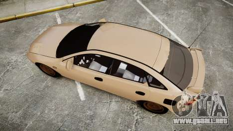 Mazda 323f 1998 para GTA 4 visión correcta