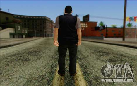 Introduction Mobster para GTA San Andreas segunda pantalla