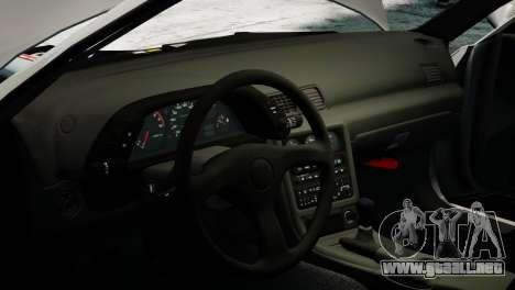Nissan Skyline R32 GT-R para GTA 4 visión correcta