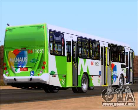 Marcopolo Torino 2007 - Volksbus 17-230 EOD para vista lateral GTA San Andreas