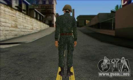 Motorizado Privado Rifle De Tropas. SAR v3 para GTA San Andreas segunda pantalla