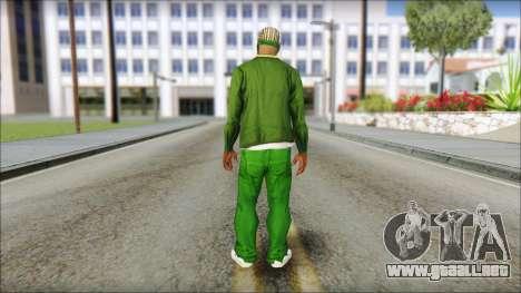 New CJ v3 para GTA San Andreas segunda pantalla
